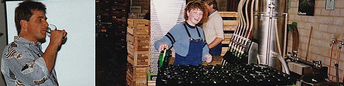Weingut Zecherhof - Eine Reise in die Vergangenheit - Andrea und Bernd